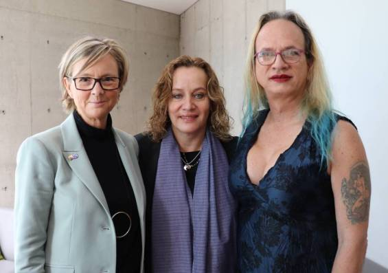 Patricia Llombart, Alejandra Borrero y Brigitte Baptiste.