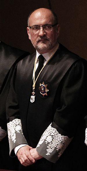 Francisco Pérez de los Cobos, presidente del Tribunal Constitucional. / ULY MARTÍN