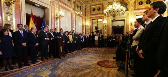 Celebración del Día de la Constitución en el Congreso de los Diputados