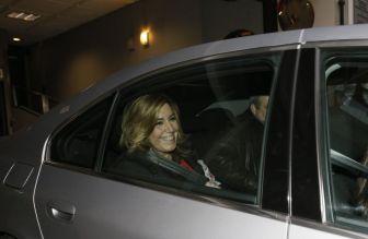 Susana Díaz abandona el viernes la sede del PSOE en Madrid.