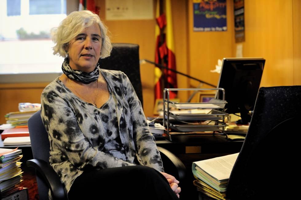 La magistrada Garbiñe Biurrun en una imagen de 2010.