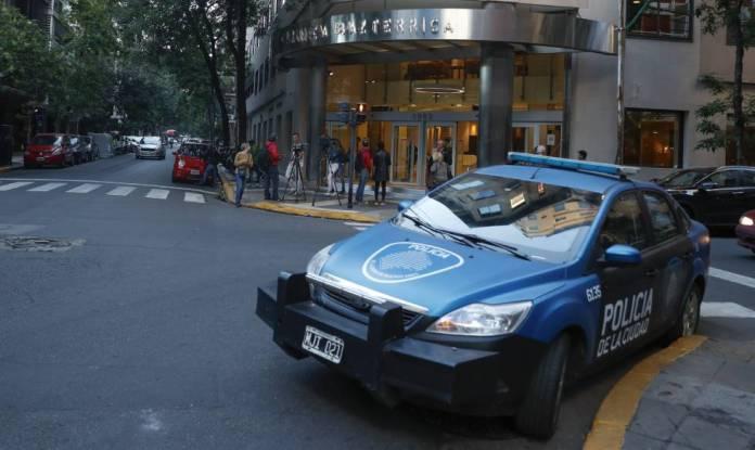 Vista de la clínica Bazterrica de Buenos Aires (Argentina), en la que ha fallecido el fiscal Maza.