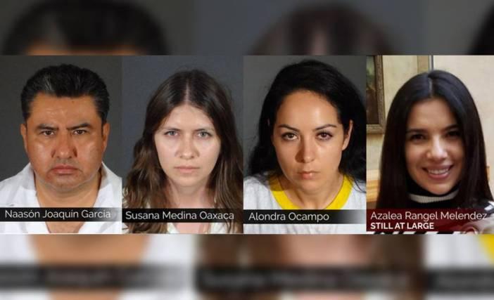 Fotos policiales de los acusados por los abusos sexuales en La Luz del Mundo.