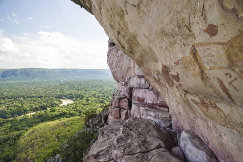 El parque natural de Chiribiquete tiene casi 4,3 millones de hectáreas.