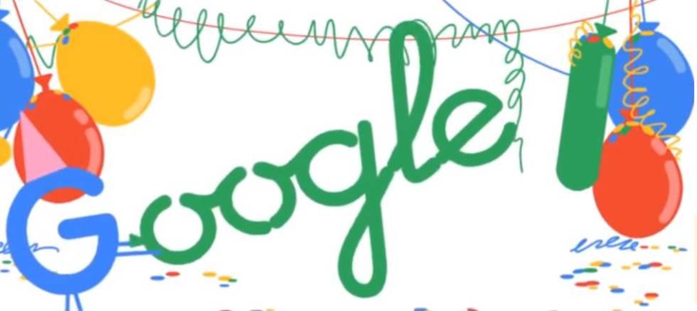 Cumpleaños 18 de Google