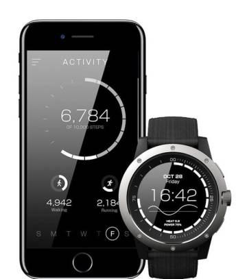 El reloj Matrix PowerWatch usa el calor corporal para obtener electricidad.