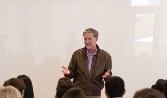 Reed Hastings, fundador y CEO de Netflix.