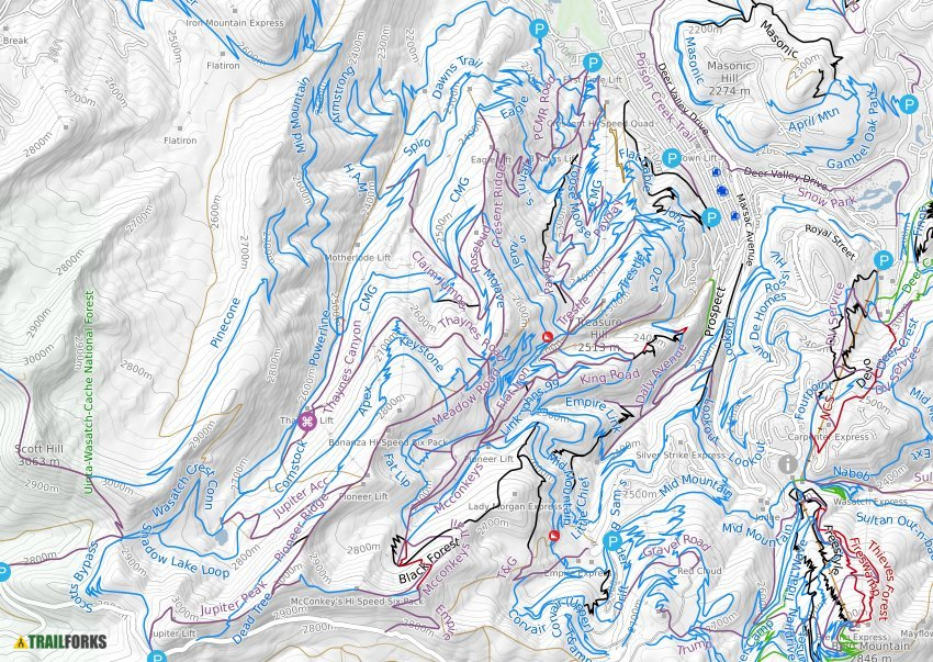 In the meantime here is an approximate price based on last season: Park City Mountain Resort Mountain Biking Trails Trailforks