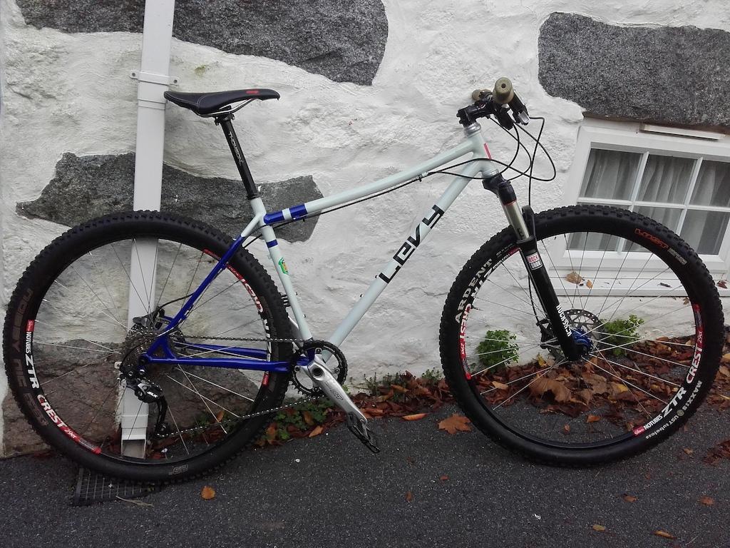 Levy bikes hand made steel 29er 853 fillet brazed