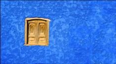 muro azul
