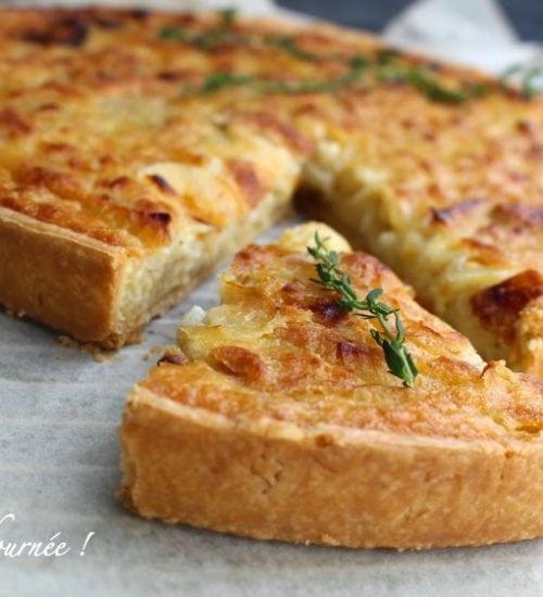 tarte aux oignons,recettes