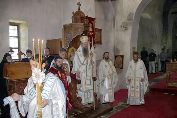 Прослављен имендан јерођакона Агапита