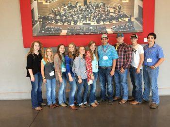 Prairiland FFA Students Attend Texas FFA Convention