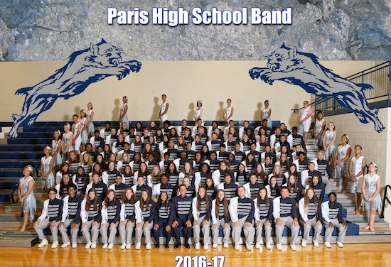 PHS Band books trip to State Finals