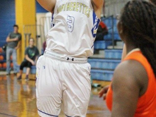 First Quarter Woes Doom Pantherettes against Honey Grove