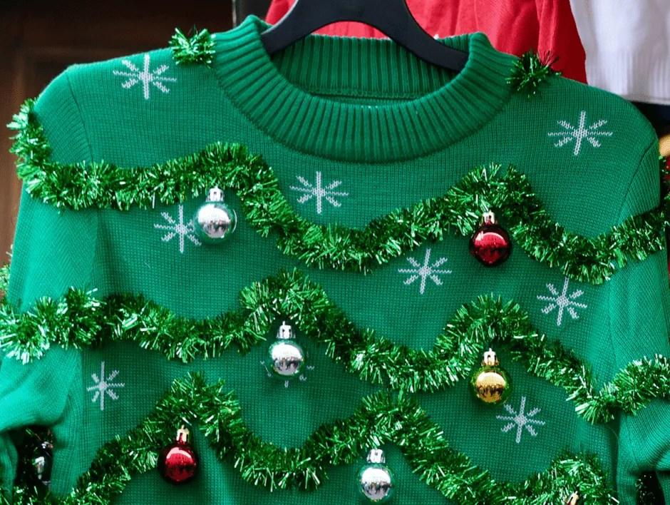 Greens sweeter with Christmas decorations