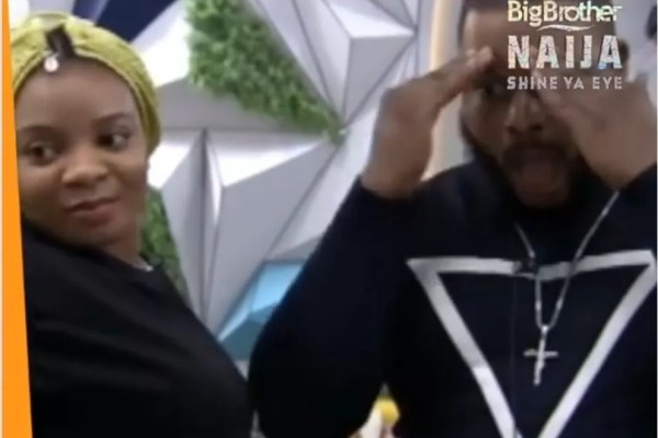 BigBrother Naija: WhiteMoney Screams Ya*sh at the sight of Queen's Backend (See video)