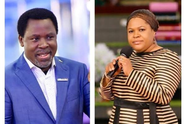 Late Prophet TB Joshua's Wife Mrs Evelyn Joshua Has Been Appointed Has The New Leader Of Synagogue Church