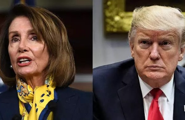 'Impeached twice and defeated twice' – House speaker, Nancy Pelosi mocks Trump's plan to run for president in 2024