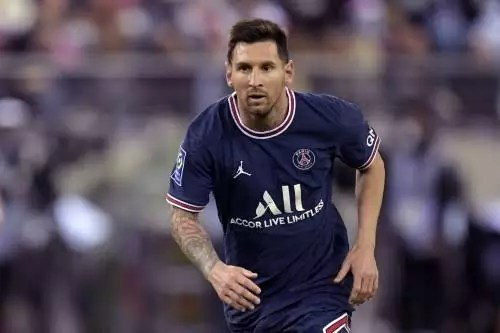Injury: PSG confirms Leo Messi would miss Wednesday's Ligue 1 game vs Metz due to a knock on his left knee