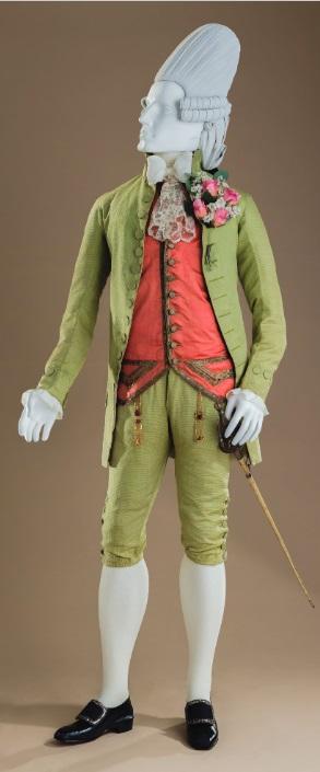 Мужской костюм 1770 г