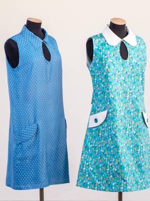 Мини-платья в стиле 60-х