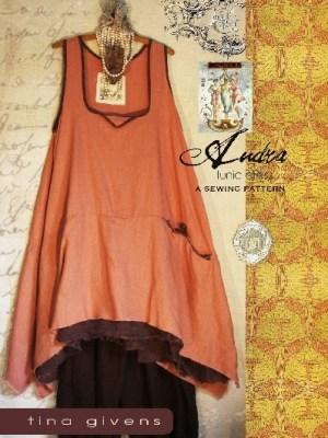 Платье-туника бохо
