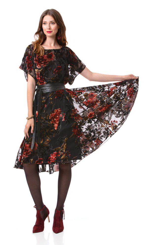 Вечернее платье с юбкой-годе бесплатная выкройка