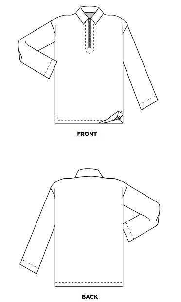 Бесплатная выкройка мужского пуловера