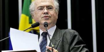 O deputado federal Alfredo Kaefer (PSL-PR) discursa no Senado Federal Foto: Geraldo Magela/Agência Senado
