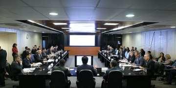 BRASÍLIA-DF, 08/06/2017. 34ª Reunião Ordinária do Conselho Nacional de Política Energética - CNPE. Sala de Reuniões Plenária do MME, 9º andar. Foto: Saulo Cruz/MME