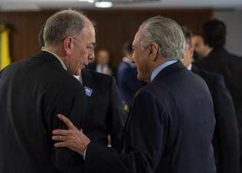 O presidente Michel Temer recebe Pedro Parente, Presidente da Petrobras Foto: Marcos Corrêa/PR
