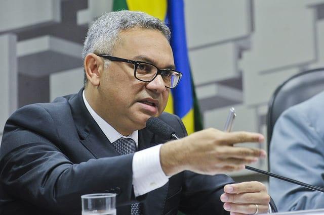 O diretor Aurélio Amaral passa a comandar a Coordenadoria de Conteúdo Local da ANP Foto: Geraldo Magela/Agência Senado