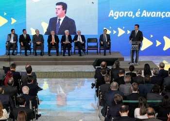 Cerimônia de Lançamento do Programa Avançar Foto: Marcos Corrêa/PR