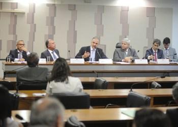 Ontem, a Comissão Mista que discute a MP 811 realizou audiência pública. Foto: Pedro França/Agência Senado
