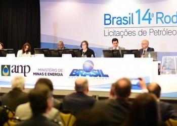 14a. Rodada de Licitações de Petróleo e Gás promovida pela Agência Nacional de Petróleo e Gás (ANP). Foto: Saulo Cruz/MME