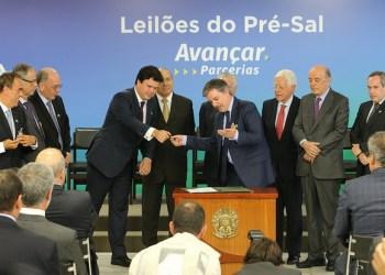 Cerimônia de Assinaturas dos Contratos da 2ª e 3ª Rodadas de Partilha de Produção no Pré-Sal. Foto: Saulo Cruz/MME