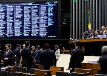 Ordem do dia na Câmara dos Deputados nesta terça-feira (22/5). Foto: Luis Macedo/Câmara dos Deputados