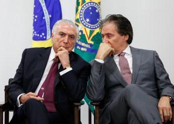 Temer indicou aliado de Eunício para diretoria da nova Agência Nacional de Mineração / Foto: Palácio do Planalto