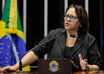Sem experiência no Executivo, senadora Fátima Bezerra (PT) lidera as pesquisas há um mês com base na rejeição ao governo de Robson Faria (PSD)/ Foto: PT no Senado