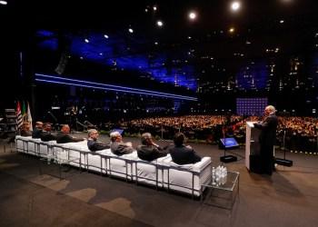 Cerimônia da 27ª Edição do Prêmio Anamaco  (São Paulo - SP, 18/09/2018) Palavras do Presidente da República, Michel Temer.Foto: Cesar Itiberê/PR