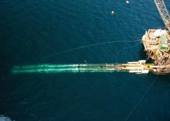 Pipe Laying Ship, Qatar 2009