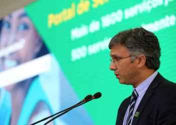 O ministro de Estado do Planejamento, Desenvolvimento e Gestão, Esteves Colnago. Foto: Marcos Corrêa/PR