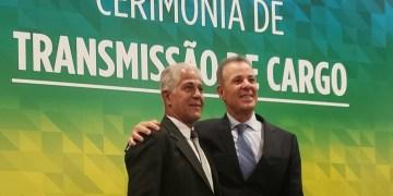 """Cerimônia de transmissão do cargo do novo ministro de Minas e Energia. Foto"""": Cortesia"""