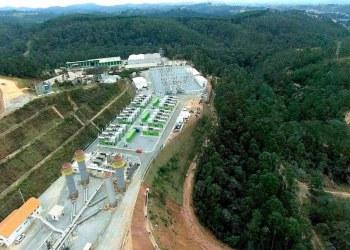 Termelétrica movida a biogás de aterro sanitário, na grande São Paulo: projeto prevê financiamentos e redução de impostos para empresas que gerarem energia a partir de resíduos sólidos. Foto: Termoverde Caieiras/Divulgação