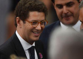 O futuro ministro do Meio Ambiente, Ricardo Salles, na cerimônia de diplomação do presidente eleito, Jair Bolsonaro, no TSE.Foto: Valter Campanato/Agência Brasil
