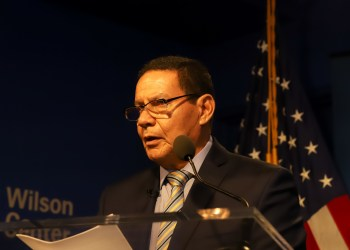 "(09/04/2019 Washington, D.C..- EUA) Vice-Presidente da República, Hamilton Mourão durante evento : ""A Conversation With His Exellency Hamilton Mourão, Vice President of the Republic of Brazil"".  Foto: Romério Cunha/VPR"