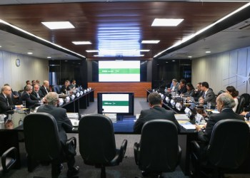 211ª Reunião do Comitê de Monitoramento do Setor Elétrico (CMSE). Foto: Saulo Cruz/MME
