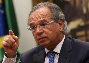 O ministro da Economia, Paulo Guedes, na Comissão de Constituição e Justiça (CCJ) da Câmara, debate a reforma da Previdência (PEC 6/19). Foto: José Cruz/Agência Brasil