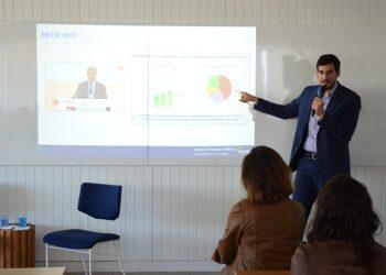 O presidente da EPE, Thiago Barral, durante o Diálogos da Transição, orgainzado pela epbr e Cebds